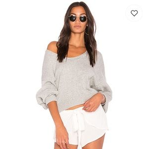 Free People Perfect Day Pullover in Grey